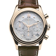 Armand Nicolet M03 Chronograph Date 18kt. Rose Gold - 7154A-AN-P915MR8