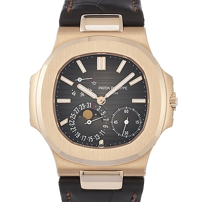 Patek Philippe Nautilus Power Reserve Moon Phases - 5712R-001