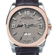 Armand Nicolet J09 Day & Date - 8650A-GR-P965GS2