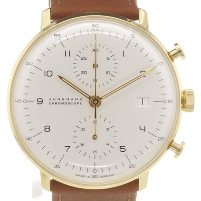 Junghans max bill Chronoscope - 027/7800.00