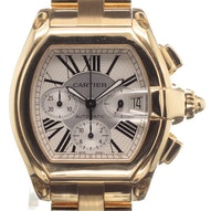 Cartier Roadster Chrono Yellow Gold - W62021Y2