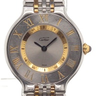 Cartier Must 23 Gold/Steel - -