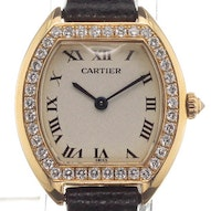Cartier Tortue Lady Yellow Gold Diamonds - -