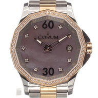 Corum Admiral's Cup Legend 38 Rose Gold/Steel MOP Diamonds - 082.101.29/V200 PK10