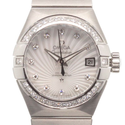 Omega Constellation Co-Axial - 123.15.27.20.55.001