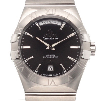 Omega Constellation Co-Axial Day-Date - 123.10.38.22.01.001