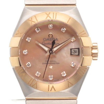 Omega Constellation Co-Axial - 123.20.27.20.57.002