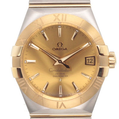 Omega Constellation Co-Axial - 123.20.38.21.08.001