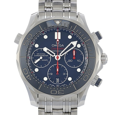 Omega Seamaster Diver 300M Co-Axial Chronograph - 212.30.42.50.03.001