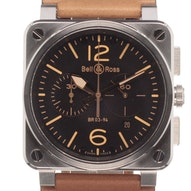 Bell & Ross Heritage - BR0394-ST-G-HE/SCA