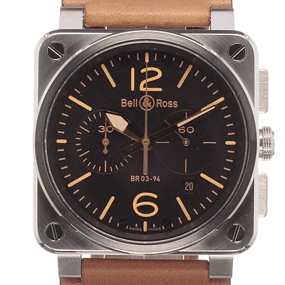 Bell & Ross BR 03 Heritage - BR0394-ST-G-HE/SCA