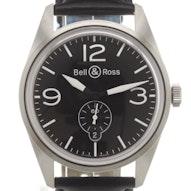 Bell & Ross Vintage - BRV123-BL-ST/SCA