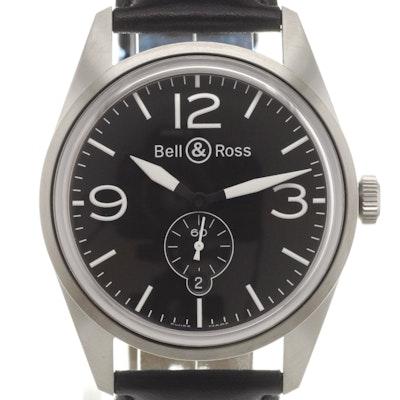 Bell & Ross BR 123 Original Black - BRV123-BL-ST/SCA