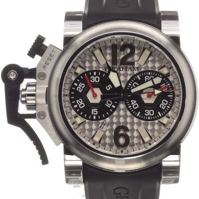Graham Chronofighter Oversize Stealth - 2OVBS.S03A.K10B