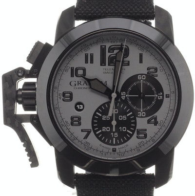 Graham Chronofighter Oversize - 2CCAU.S01A.T12N