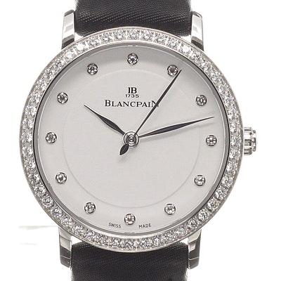 Blancpain Villeret Ultra Slim Ladies - 6102-4628-95