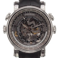 Arnold & Son Hornet World Timer Skeleton - 1H6AS.O01A.C79F