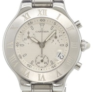 Cartier Chronograph Must 21 - W10184U2
