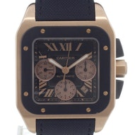 Cartier Santos Rose Gold 100 XL - W2020003