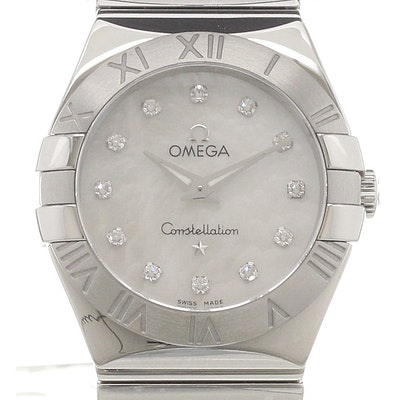 Omega Constellation Quartz - 123.10.27.60.55.002