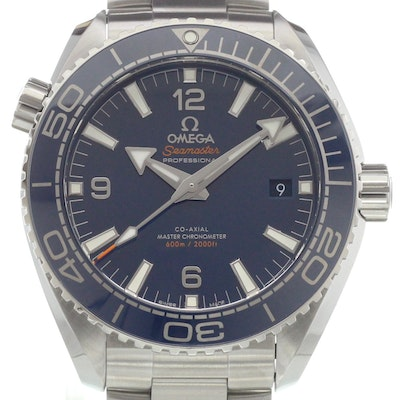 Omega Seamaster Planet Ocean 600 M Co-Axial Master Chronometer Chronograph - 215.30.44.21.03.001