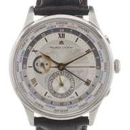 Maurice Lacroix Masterpiece Worldtimer - MP6008-SS001-110