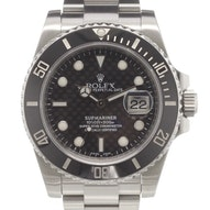 "Rolex Submariner ""Carbon Dial"" - 116610LN"