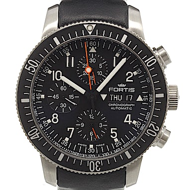 Fortis B-42 Official Cosmonauts Chronograph - 638.10.11 L01