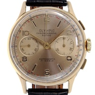 Chronographe Suisse Cie Olympic Vintage - 9130A-NR-P713NR2