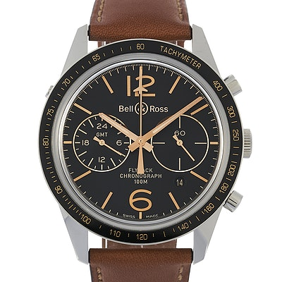 Bell & Ross BR 126 Sport Heritage GMT & Flyback Ltd. - BRV126-FLY-GMT/SCA