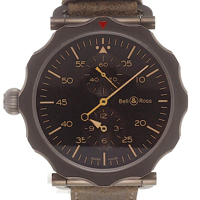 Bell & Ross WW2 Regulateur Heritage - BRWW2-REG-HER/SCA