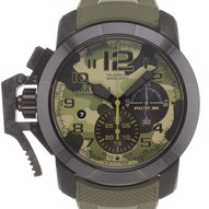 Graham Chronofighter Oversize Black Arrow - 2CCAU.G02A