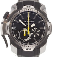 Graham Chronofighter Prodive Black - 2CDAV.B02A