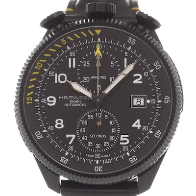 Hamilton Khaki Aviation Takeoff Auto Chrono - H76786733