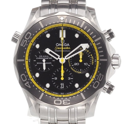 Omega Seamaster Diver 300M Co-Axial Chronograph - 212.30.44.50.01.002