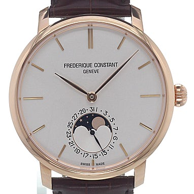 Frederique Constant Manufacture Slimline Moonphase - FC-705V4S4