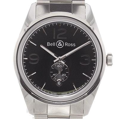 Bell & Ross BR 123 Officer - BRG123-BL-ST-SST