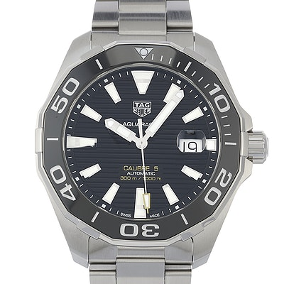 Tag Heuer Aquaracer Calibre 5 Automatic - WAY201A.BA0927