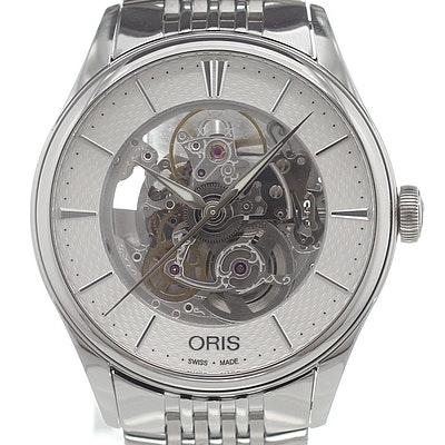 Oris Artelier Skeleton - 01 734 7721 4051-07 8 21 79