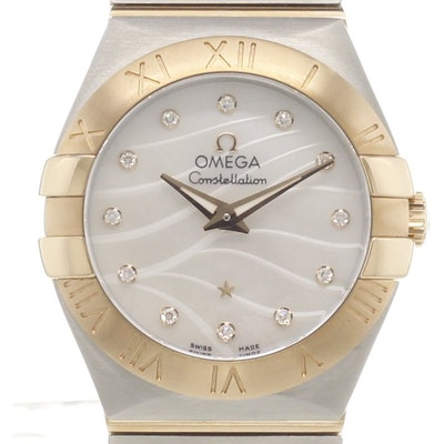 Omega Constellation Quartz - 123.20.27.60.55.006