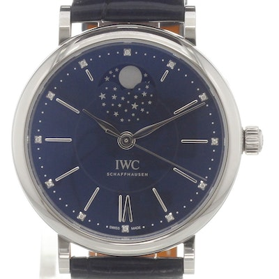 "IWC Portofino Moonphase ""Laureus Sport for Good Foundation"" - IW459006"