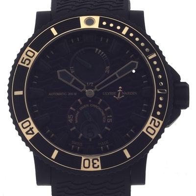 Ulysse Nardin Marine Maxi Diver BLack Sea - 263-92LE-3C/928-RG