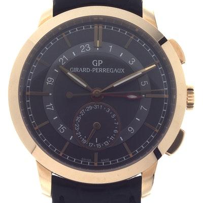 Girard Perregaux Dual Time  - 49544-52-231-BB60