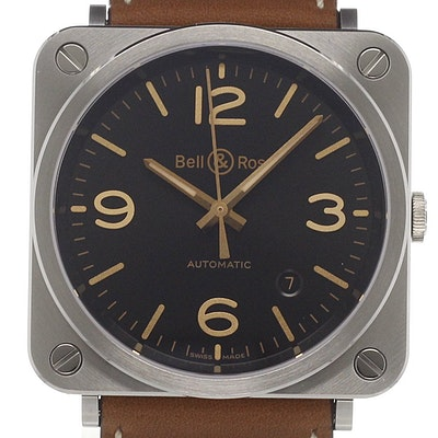 Bell & Ross BR S Golden Heritage - BRS92-G-HE-ST