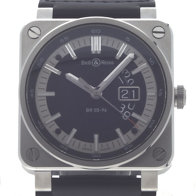 Bell & Ross BR 03 Grande Date - BR0396-SI-ST