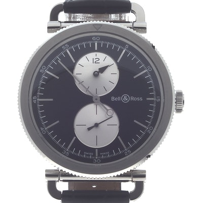 Bell & Ross WW2 Regulateur Officer - BRWW2-REG-BS/SCR