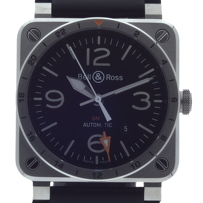 Bell & Ross BR 03 Aviation - BR0393-GMT-ST/SCA