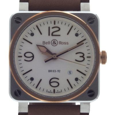 Bell & Ross BR 03-92  - BR0392-ST-PG/SCA