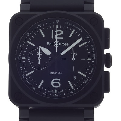 Bell & Ross BR 03  - BR0394-BL-CE