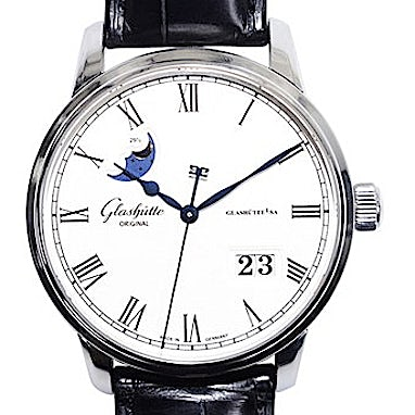 Glashütte Original Senator Panorama Date Moon Phase - 100-04-32-12-04